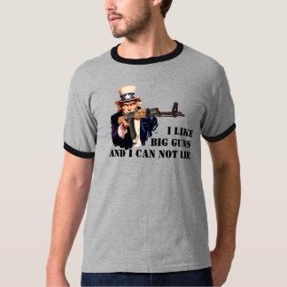 AK-47 - I Like Big GUNS and I can not lie T-Shirt