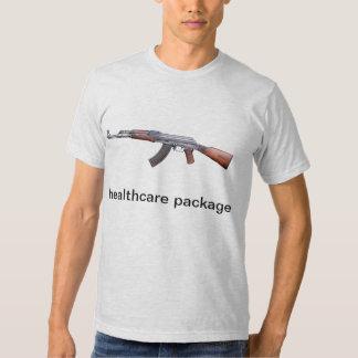 AK-47 is my health insurance, healthcare package Tshirt