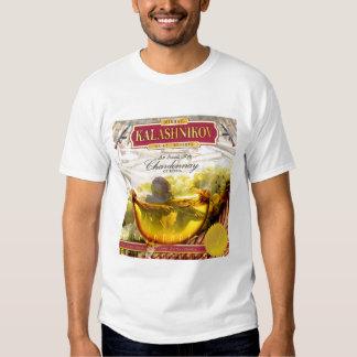 AK-47 Kalashnikov Wine chardonnay T-shirt