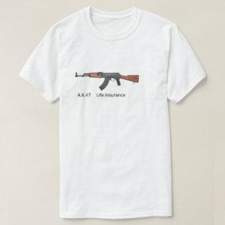 ak 47 life insurance T-Shirt