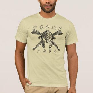 AK-47 Molon Labe Spartan T-Shirt