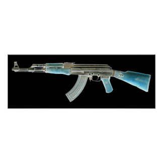 AK-47 Negative Posters