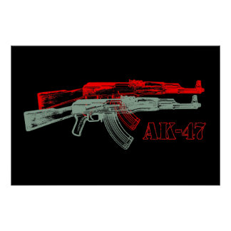AK 47 POSTERS