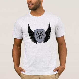 AK 47 Shield and Wings T-Shirt