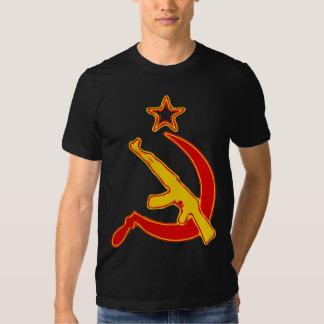 AK-47 & Sickle *with Star* Tshirt