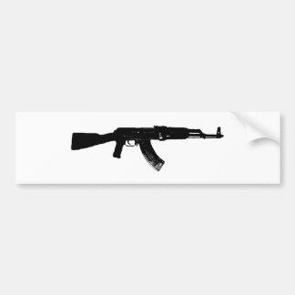 AK-47 Silhouette Bumper Sticker