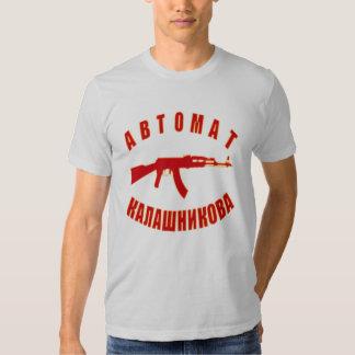 AK-47 (w/number 47) T-shirt