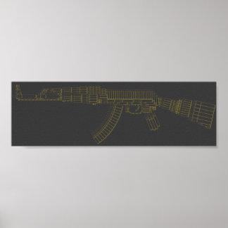 Ak Ammunition Poster