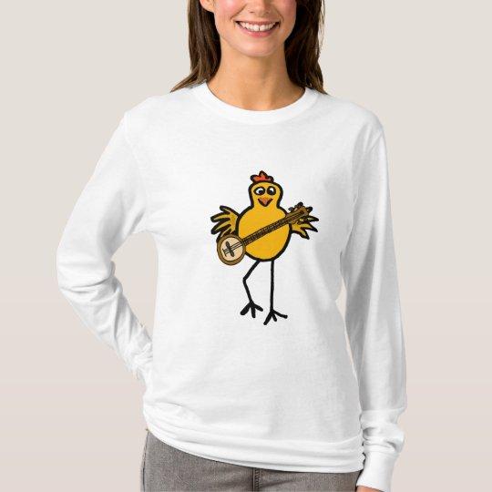 AK- Banjo Playing Chicken Shirt