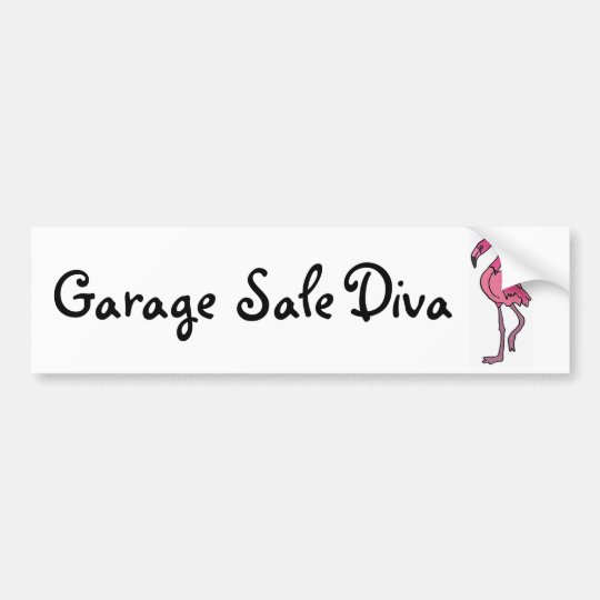 AK- Garage Sale Diva Bumper Sticker