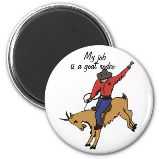 AK- Goat Rodeo Magnet