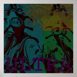 AK Rockefeller ULTRA Large Poster (Gasmask Girls)