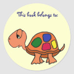 AK- Turtle This book belongs to: stickers