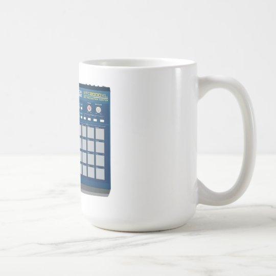 Akai MPC 2000xl Drum Machine Blue Coffee Mug