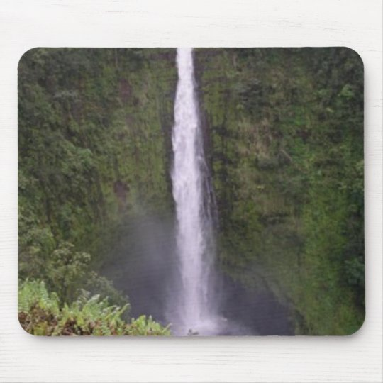 Akaka Falls, Big Island, Hawaii Mouse Pad