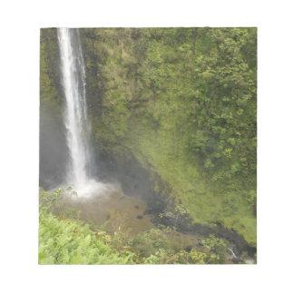 Akaka Falls, Hamakua Coast, Island of Hawaii, Notepad