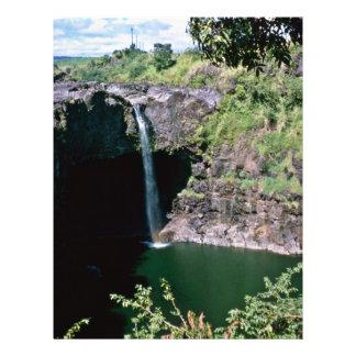Akaka Falls, Hawaii 21.5 Cm X 28 Cm Flyer