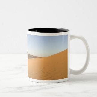 Akakus, Sahara desert, Fezzan, Libya. Two-Tone Coffee Mug