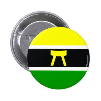 Akan people ethnic flag ghana kwa ivory coast pinback button