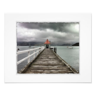 Akaroa Jetty Photo Print