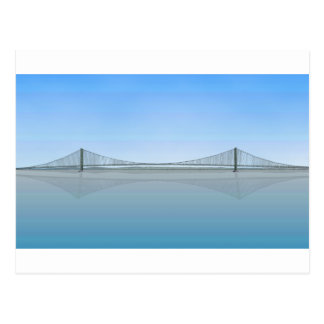 Akashi Kaikyo Suspension Bridge: aka Pearl Bridge Postcard