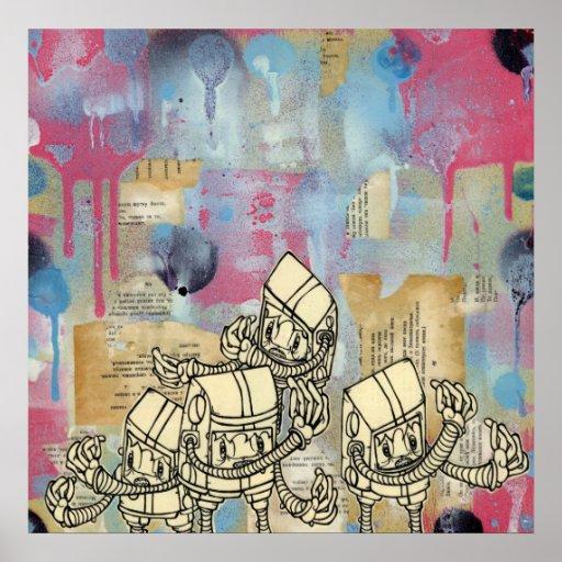 Akayo Robots Print