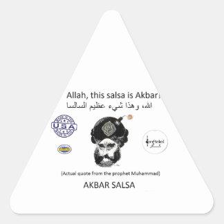 Akbar Salsa brand gear Triangle Sticker