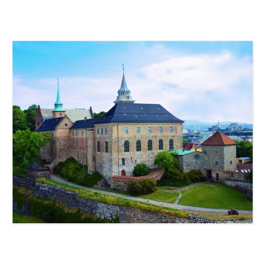 Akershus Castle in Olso, Norway Postcard