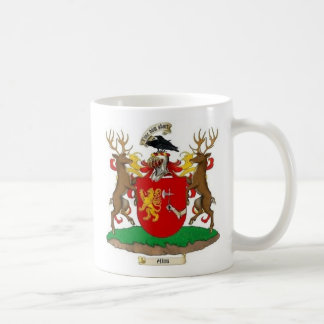 Akins Clan Crest & Coat of Arms Ceramic Coffee Mug