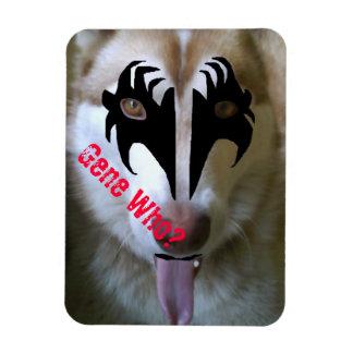 Akira Kiss Gene Who? Rectangular Photo Magnet