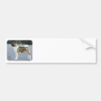 Akita 8P004D-12 Bumper Sticker