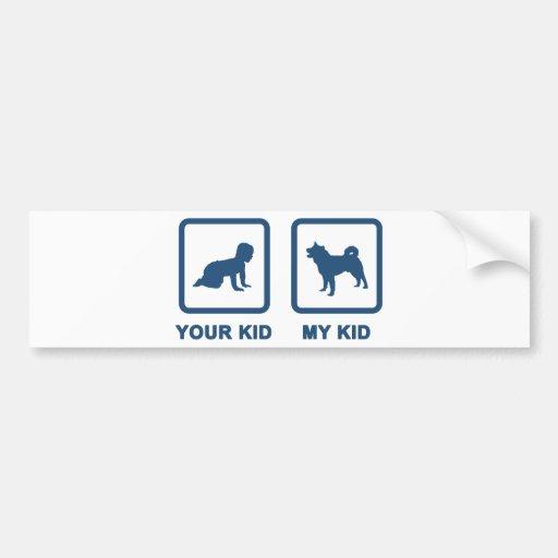Akita Bumper Stickers