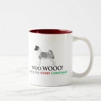 Akita Christmas Mug