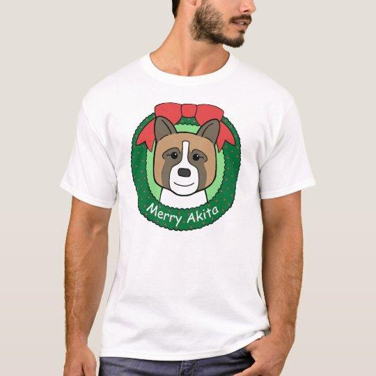 Akita Christmas T-Shirt