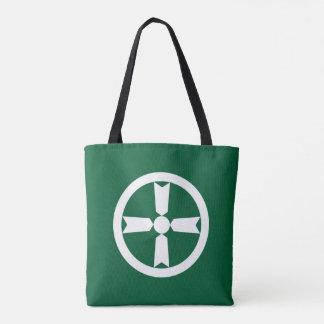 Akita city flag Akita prefecture japan symbol Tote Bag