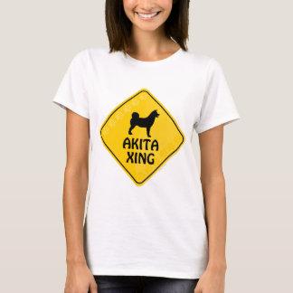 Akita Crossing [Xing] T-Shirt