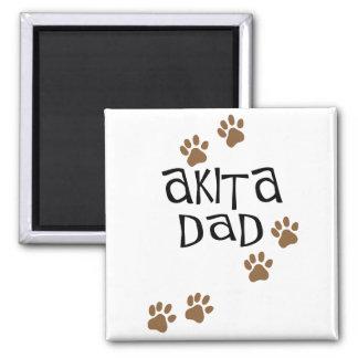 Akita Dad Magnet