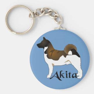 Akita, Detailed Key Ring