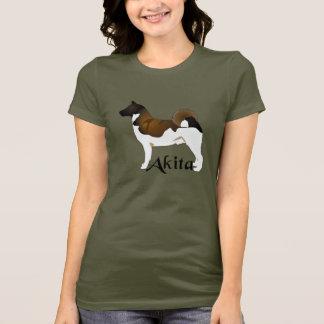 Akita, Detailed T-Shirt