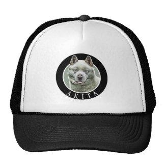 Akita Dog 002 Cap