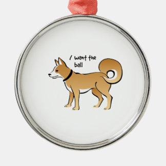 Akita Dog Illustration Fetch Pet Ornaments
