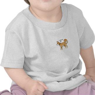 Akita Dog Illustration Fetch Pet Tshirts