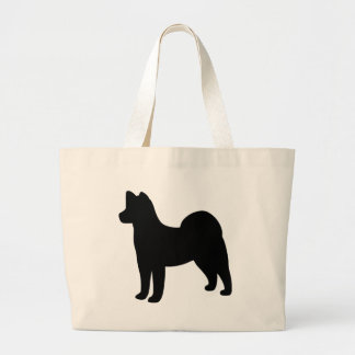 Akita Dog Large Tote Bag