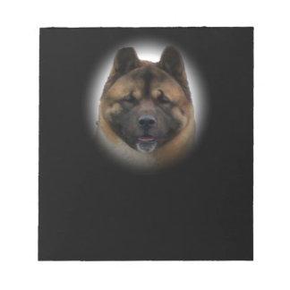 Akita Dog Notepad