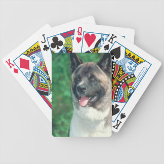 Akita Dog Playing Cards