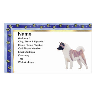 Akita ~ Gifts Pack Of Standard Business Cards