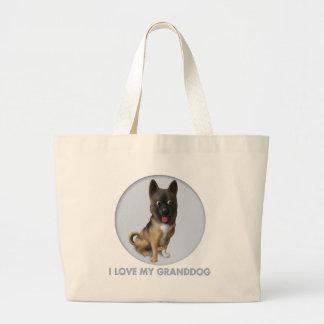 Akita Granddog Canvas Bag