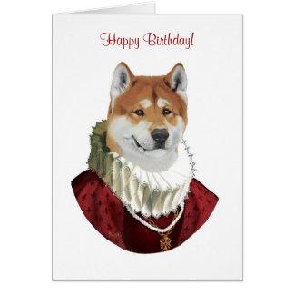 Akita, Happy Birthday! card