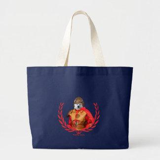 Akita Inu Samurai Tote Bag
