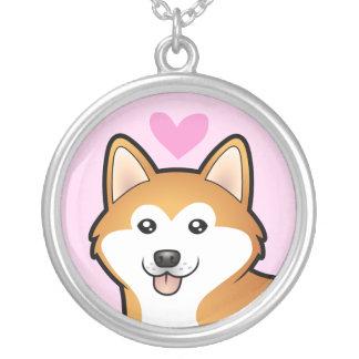 Akita Inu / Shiba Inu Love Pendant
